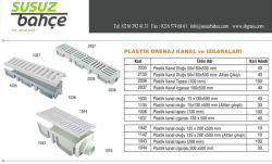Plastik Kanal Ve Izgara 200x500